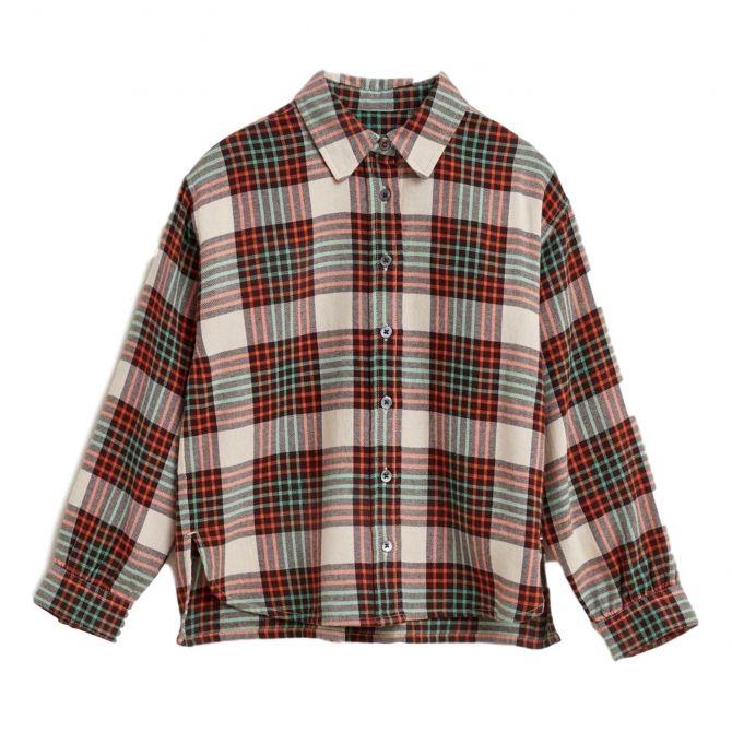 Bellerose Koszula Ironie w kratę czerwona