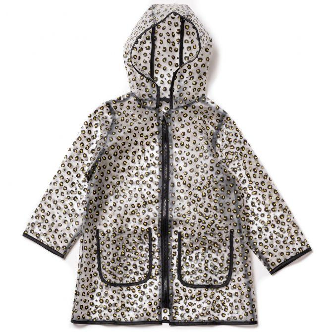 Bonton Rain Raincoat Leopard brown