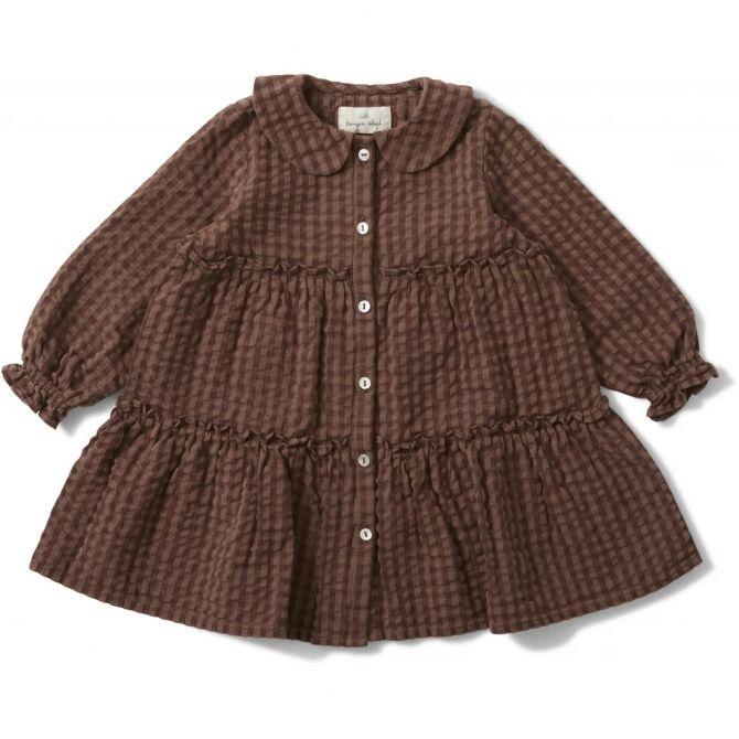 Konges Slojd Ada Dress brown