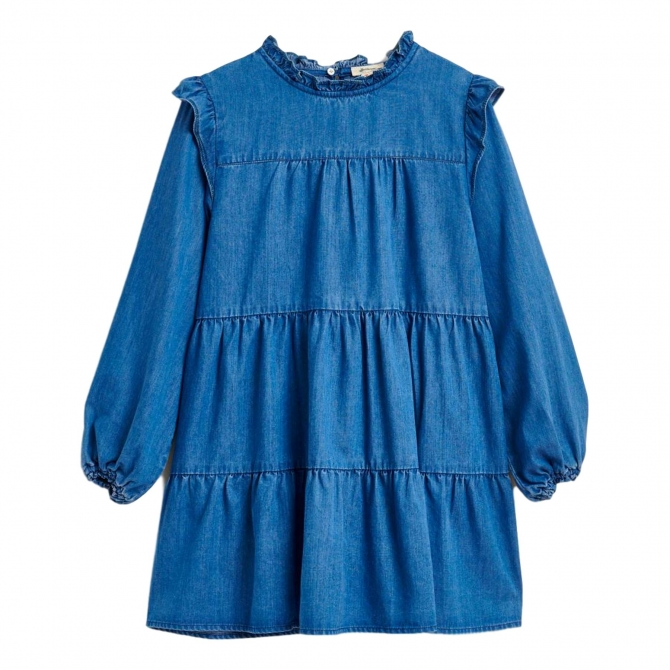 Bellerose Sukienka Pebbles niebieska