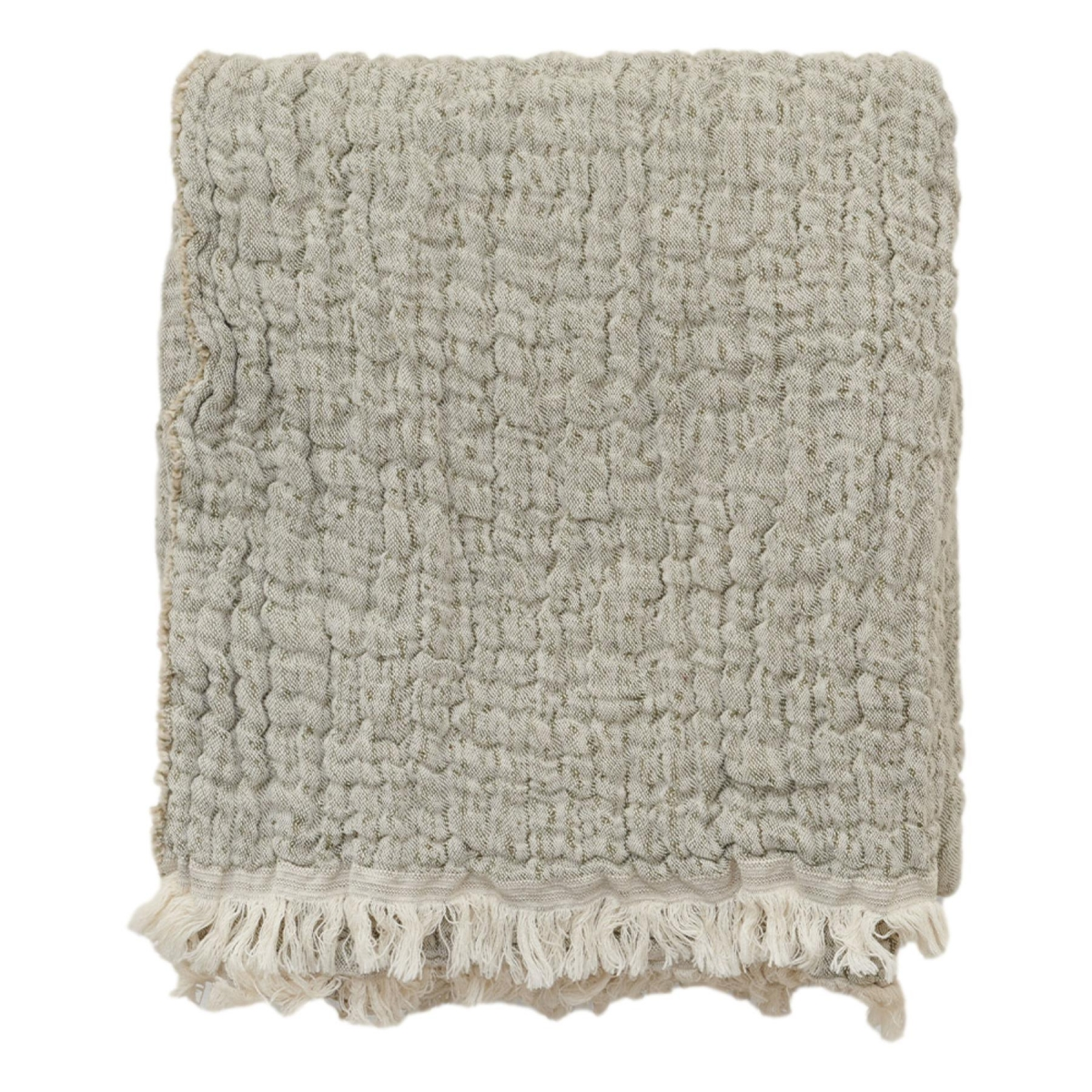 Garbo & Friends Mellow kale Blanket M