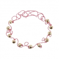 Ding Ding Garland dusty pink
