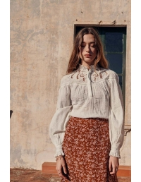 Louise Misha Camille blouse off white