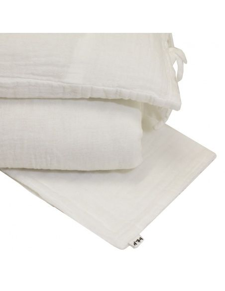 Numero 74 Duvet Cover Set white
