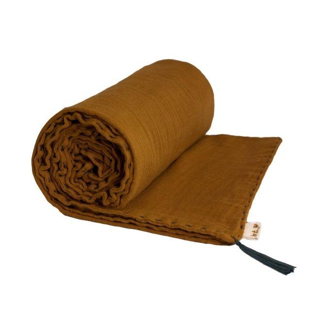 Koc Summer Blanket gold musztardowy - Numero 74