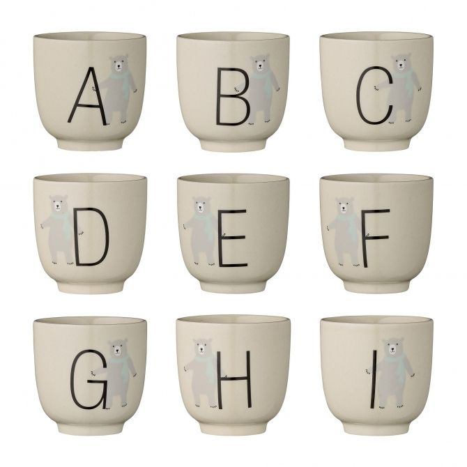 Cup Annabelle Alphabet - Bloomingville