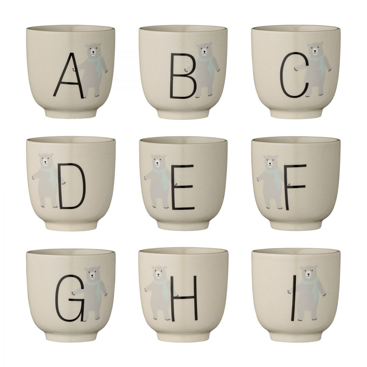 Bloomingville Cup Annabelle Alphabet