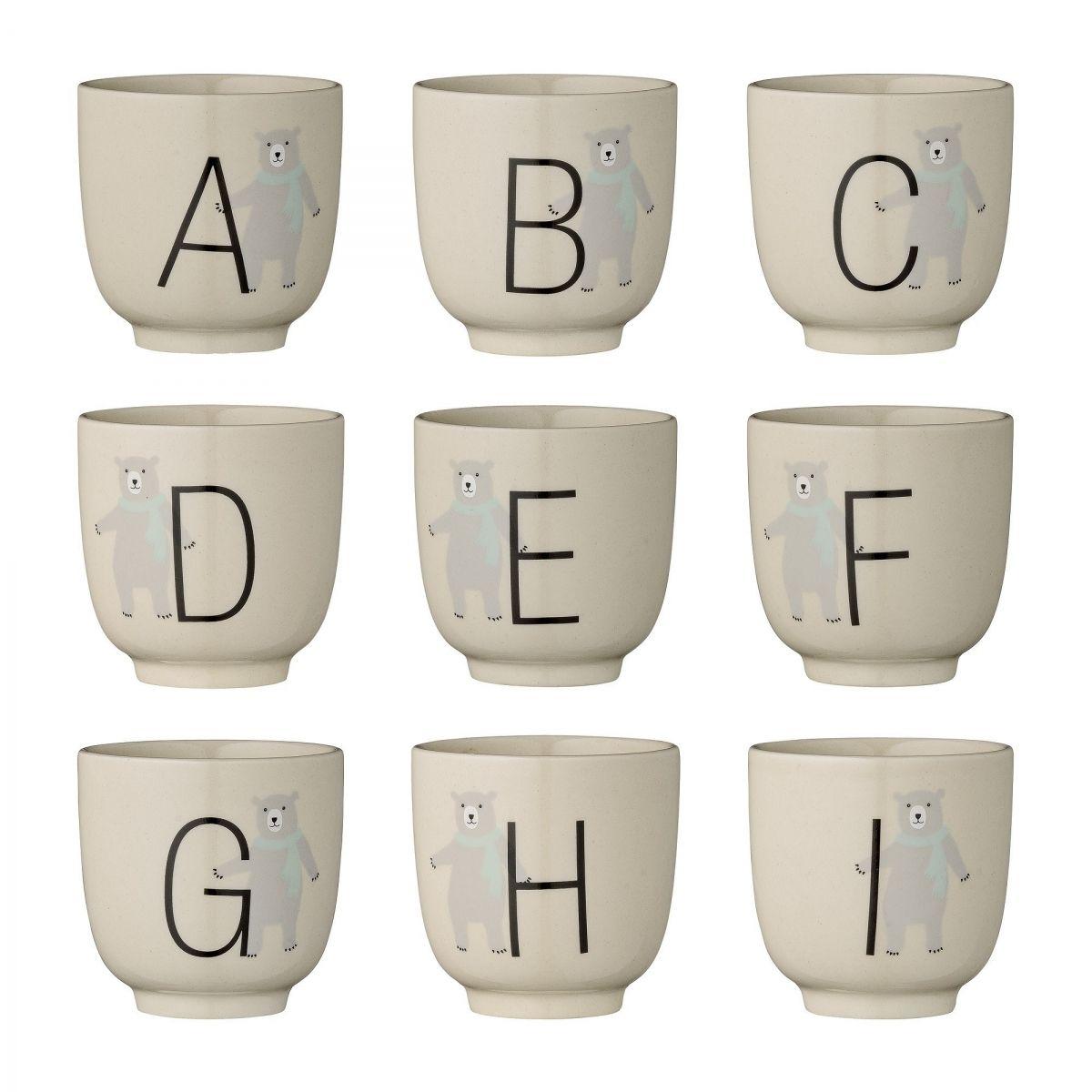 Kubeczek Cup Annabelle Alphabet alfabet - Bloomingville