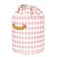 Toy Bag Baobab Small pink diamonds
