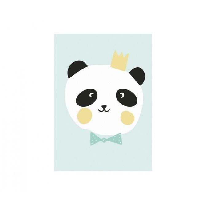 Plakat Poster King Panda - Eef Lillemor