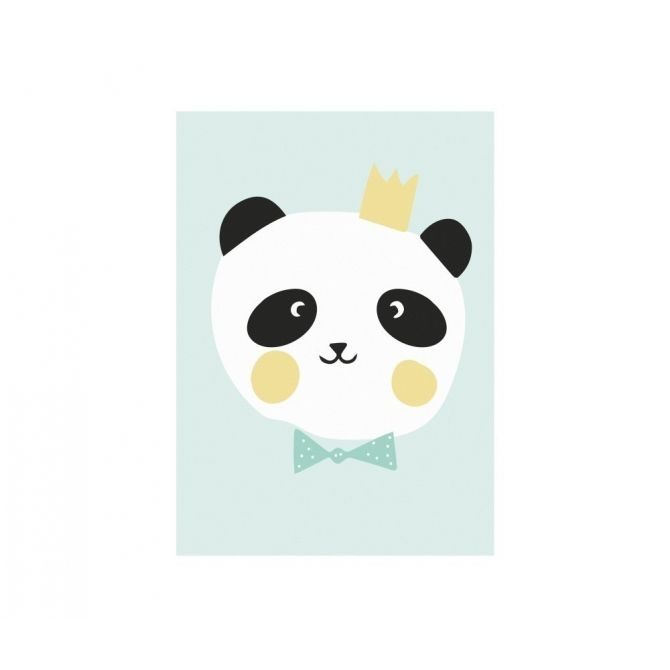 Poster King Panda - Eef Lillemor