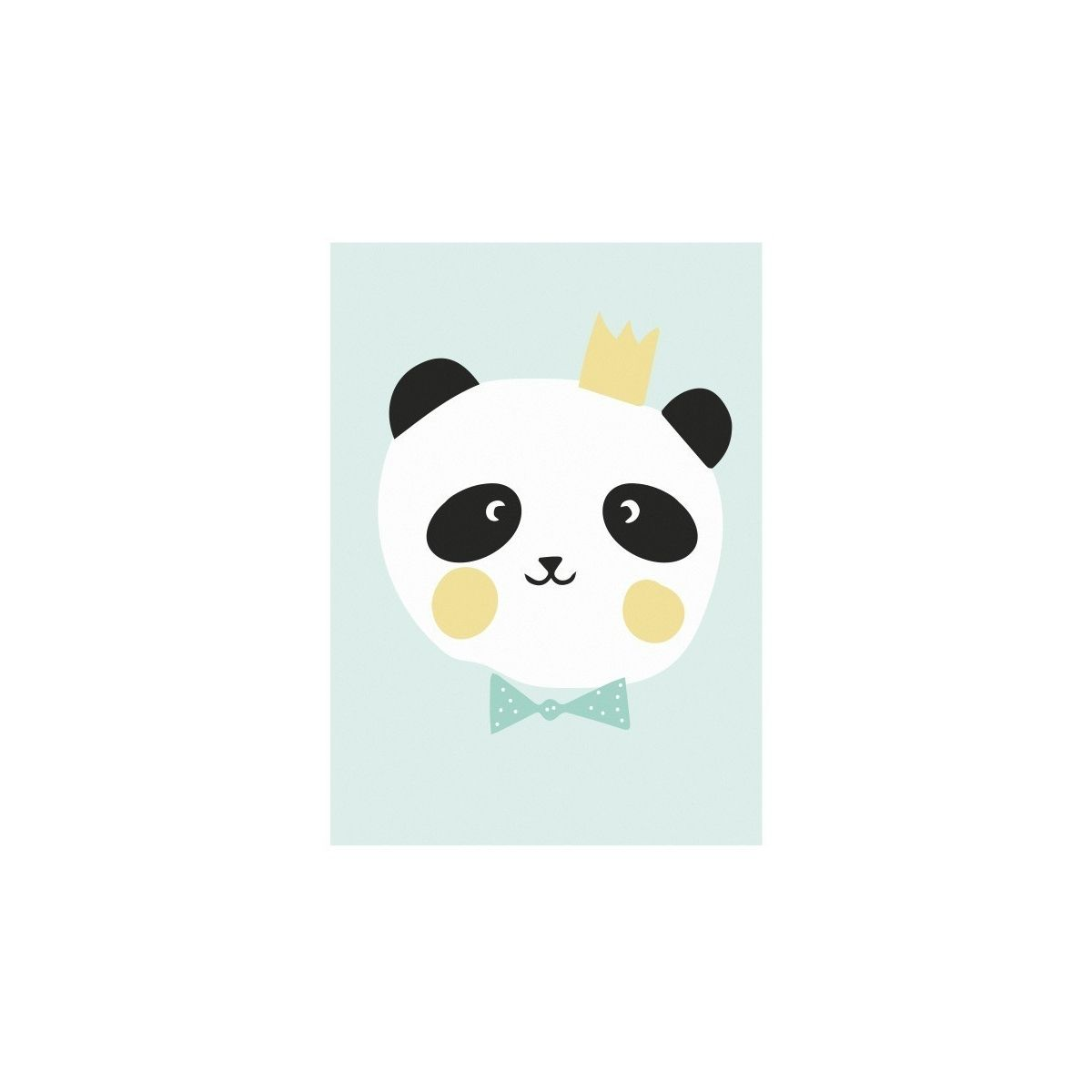Eef Lillemor Poster King Panda