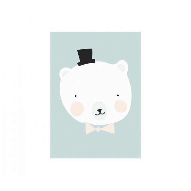Plakat Print Mister Polar - Eef Lillemor