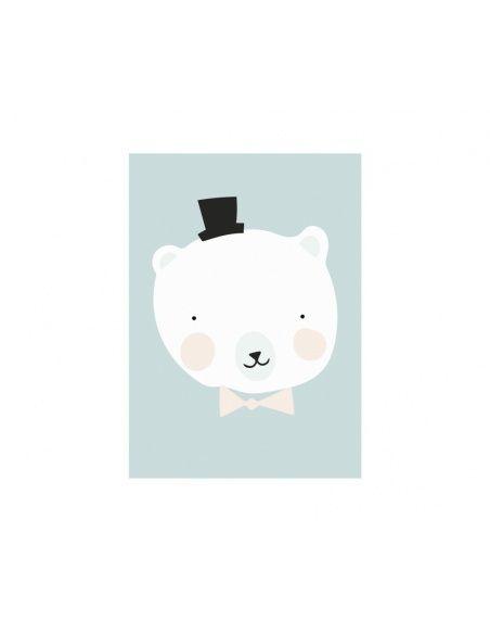 Plakat Mister Polar - Eef Lillemor