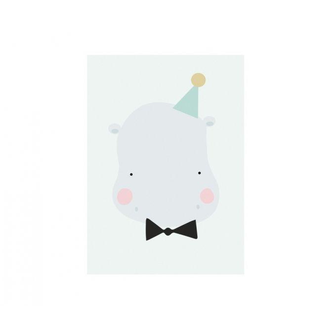 Plakat Poster Happy Hipo - Eef Lillemor