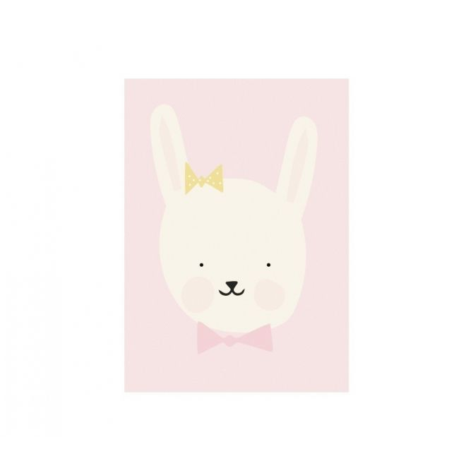 Plakat Miss Bunny - Eef Lillemor