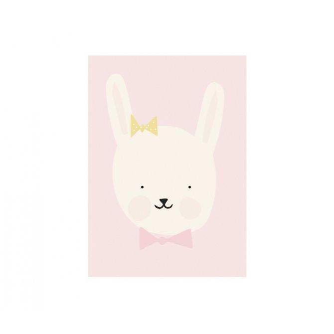 Plakat Poster Miss Bunny - Eef Lillemor