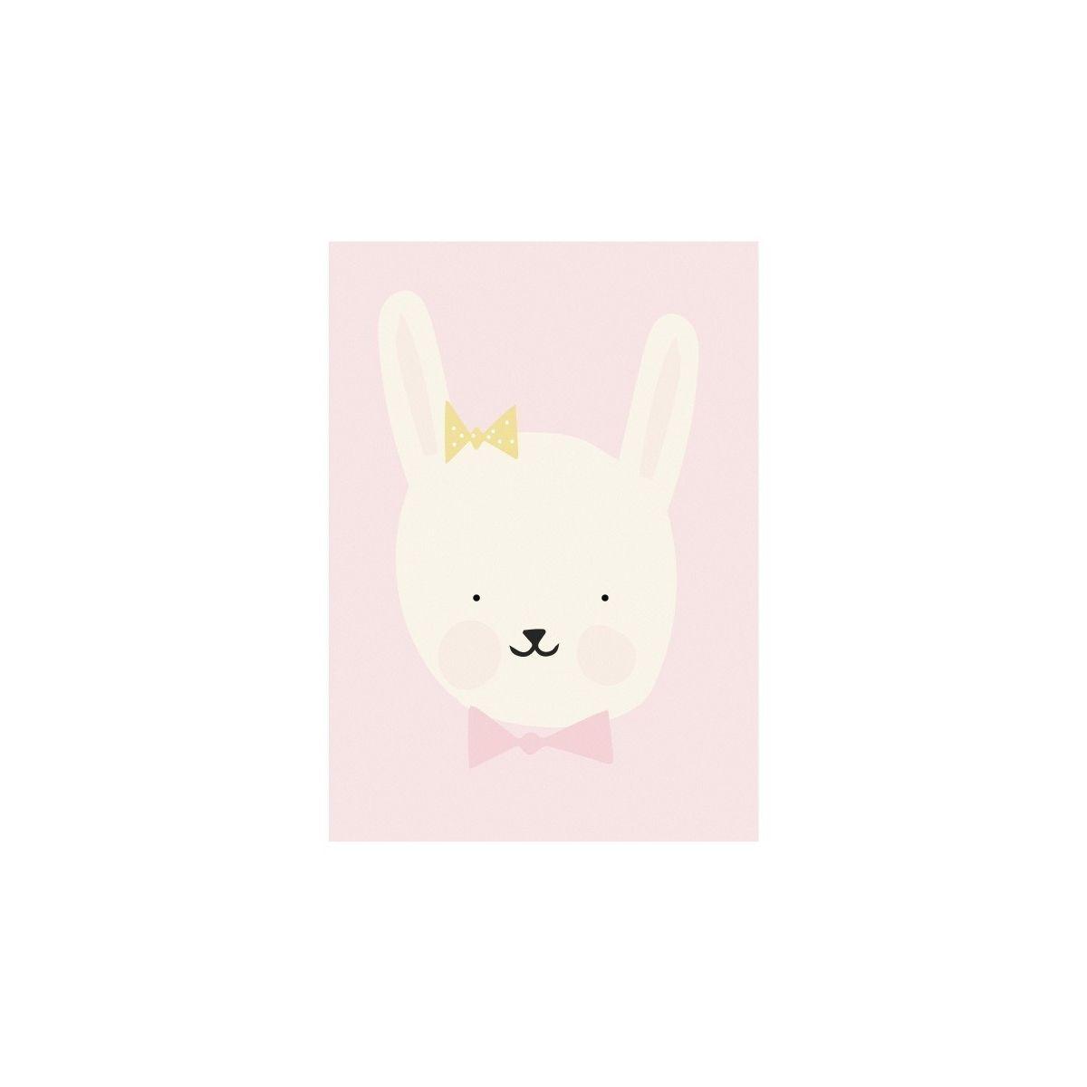 Eef Lillemor Poster Miss Bunny
