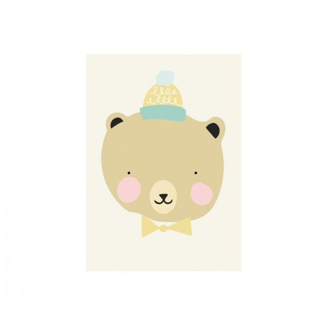 Plakat Frisky Grizzly - Eef Lillemor