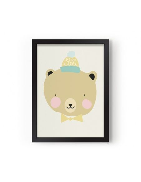 Plakat Poster Frisky Grizzly - Eef Lillemor