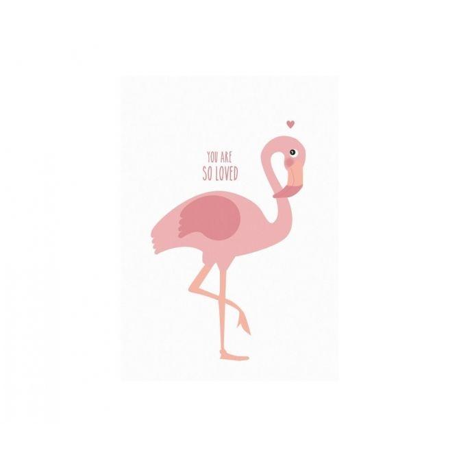 Eef Lillemor Poster Flamingo