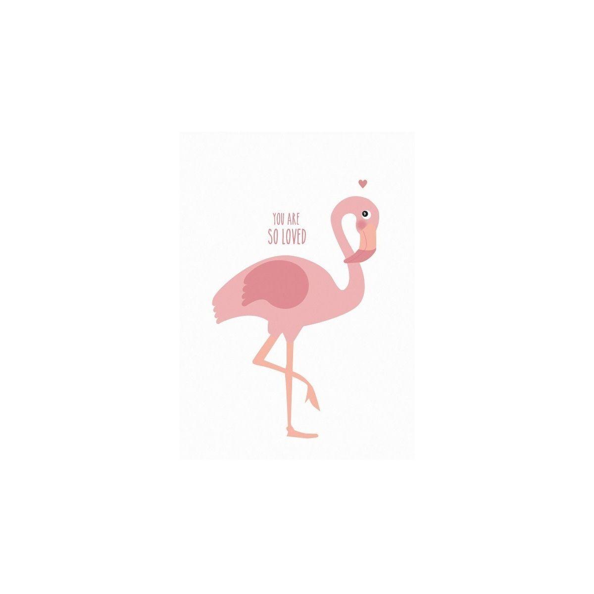 Plakat Flamingo - Eef Lillemor