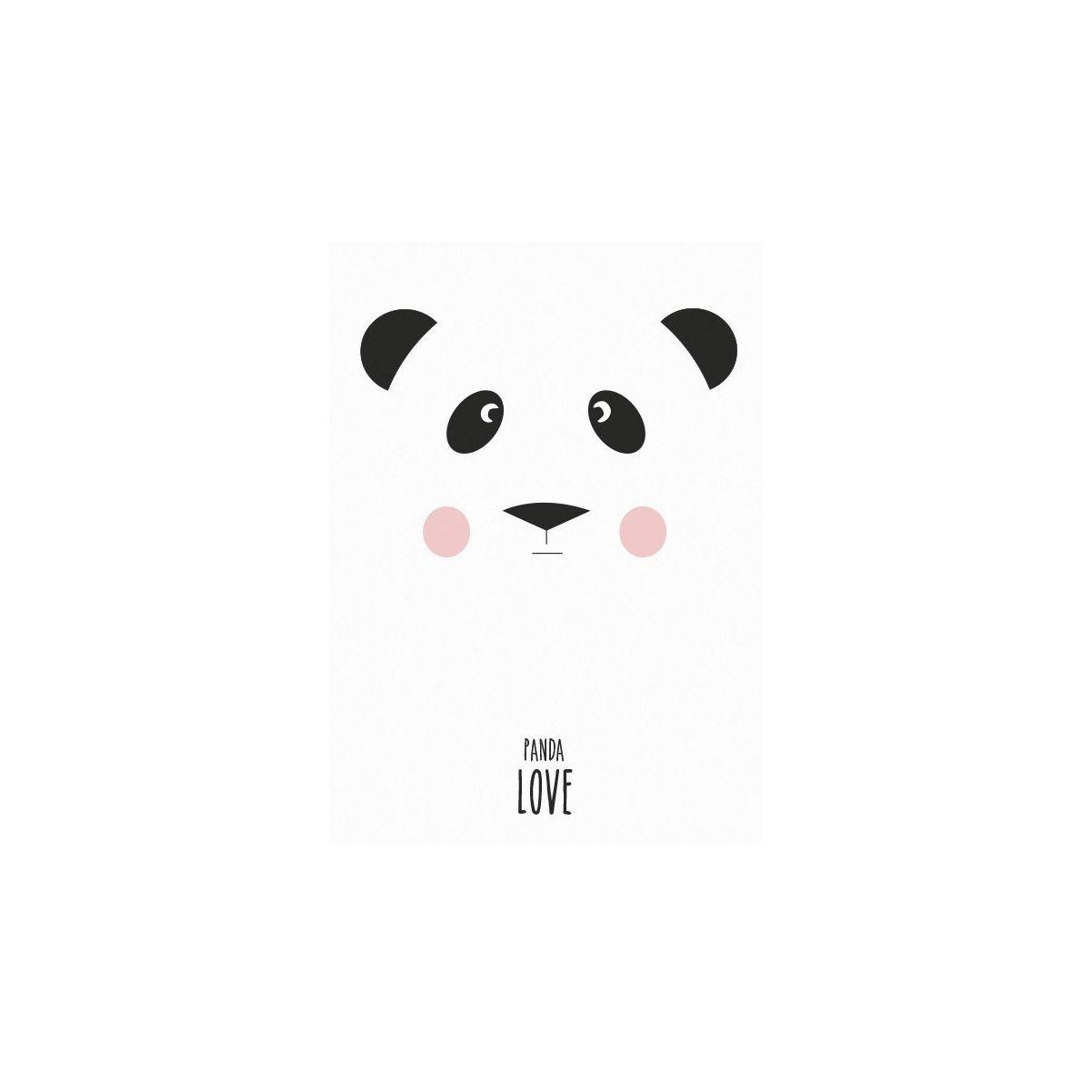 Plakat Panda - Eef Lillemor