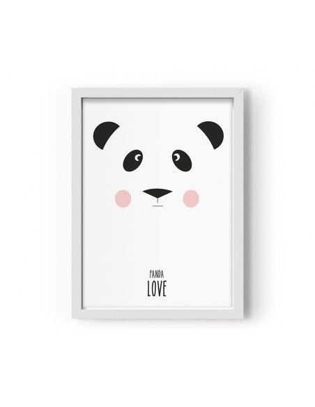 Plakat Poster Panda - Eef Lillemor