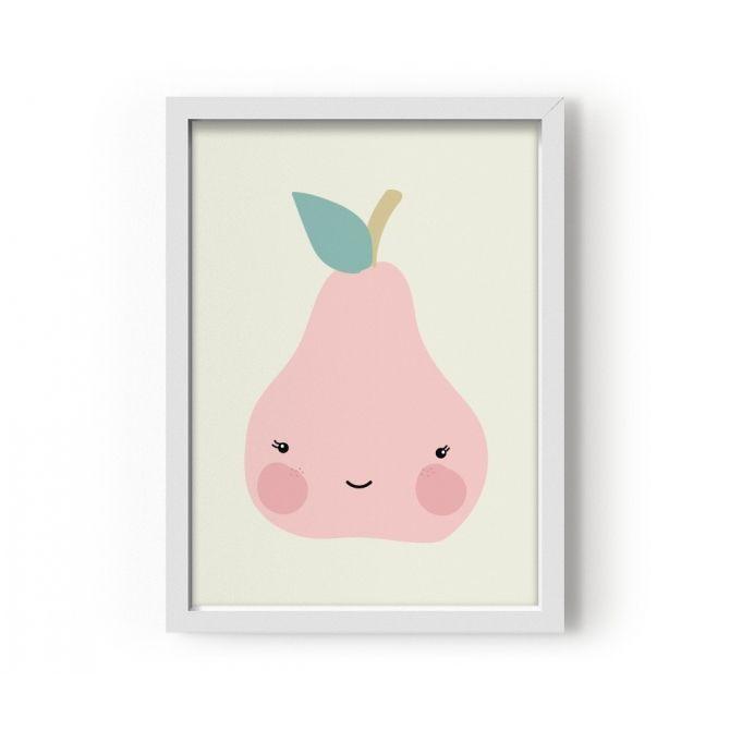 Plakat Pear - Eef Lillemor