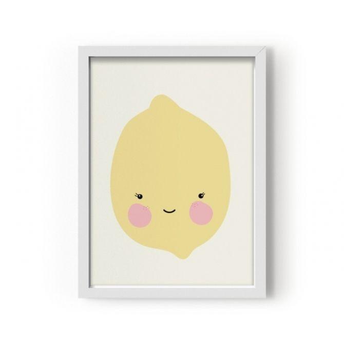 Eef Lillemor Poster Citron