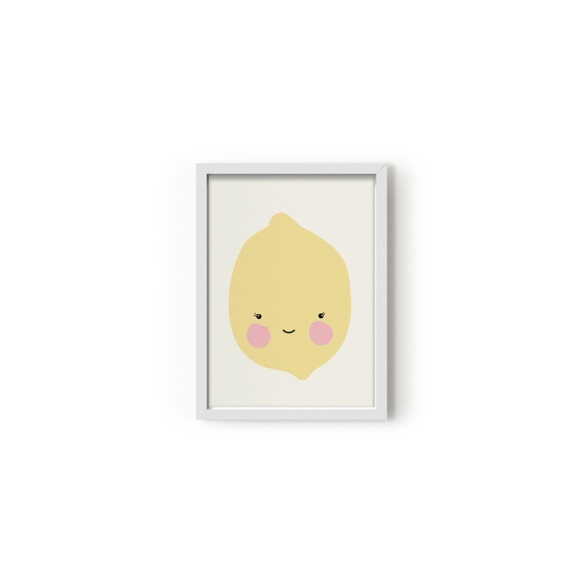 Poster Citron - Eef Lillemor