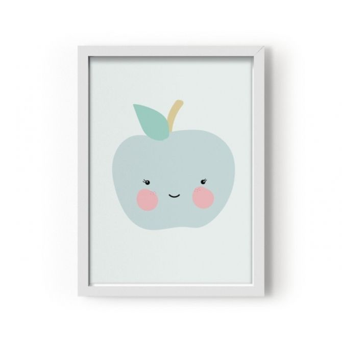 Poster Apple - Eef Lillemor