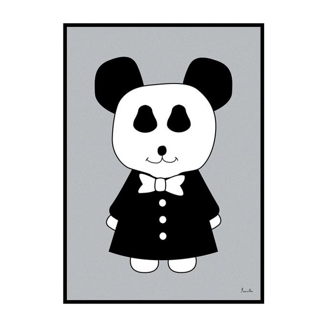 Plakat Mr Panda - Miniwilla