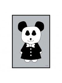 Miniwilla Plakat Mr Panda