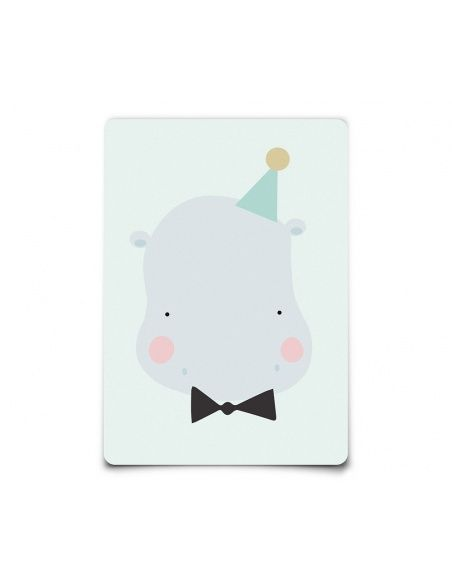 Kartka Postcard Happy Hippo Eef Lillemor Home & Design