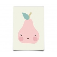 Kartka Postcard Miss Pear