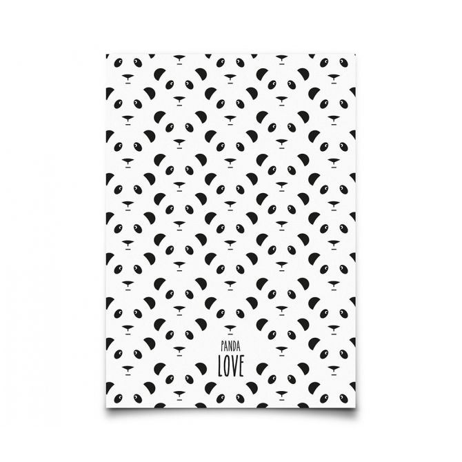 Kartka Postcard Panda - Eef Lillemor