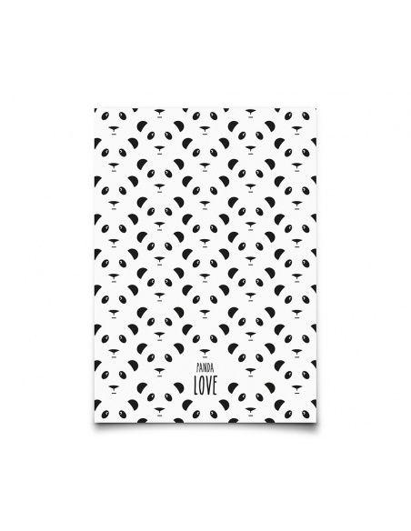 Kartka Panda - Eef Lillemor