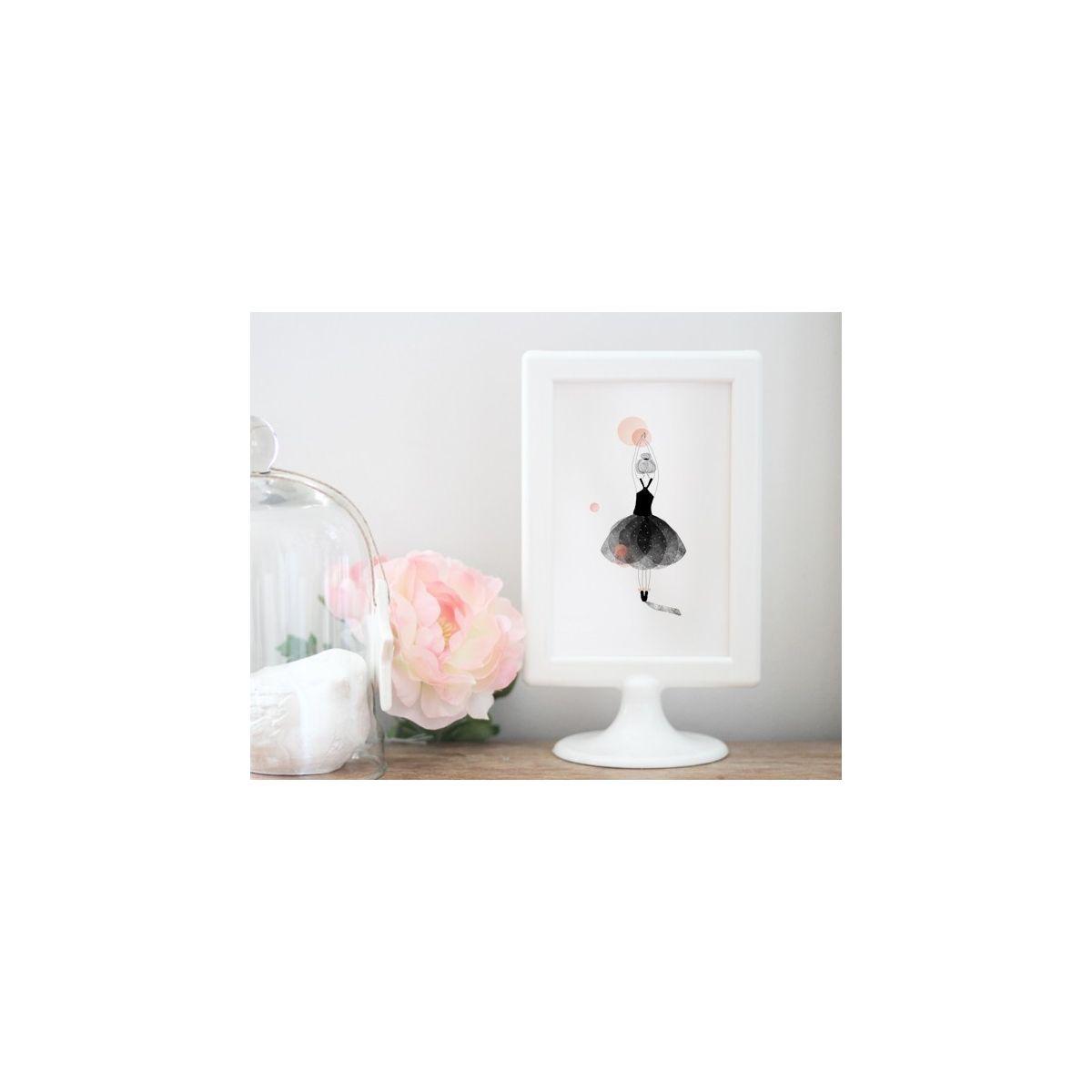 Kartka Postcard Ballerine pink - My Lovely Thing