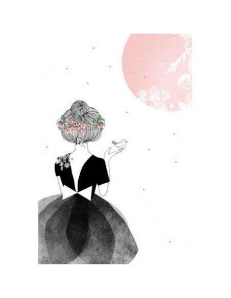 My Lovely Thing Postcard La Danseuse
