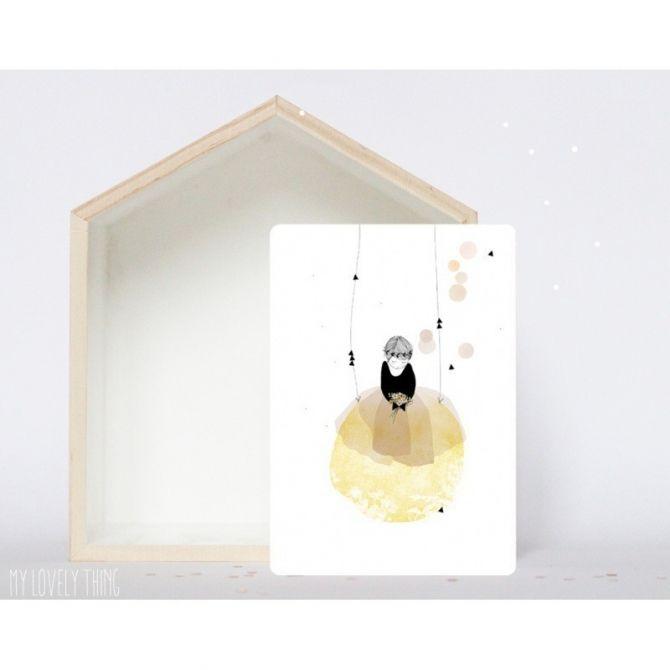 Kartka Postcard Poesie - My Lovely Thing