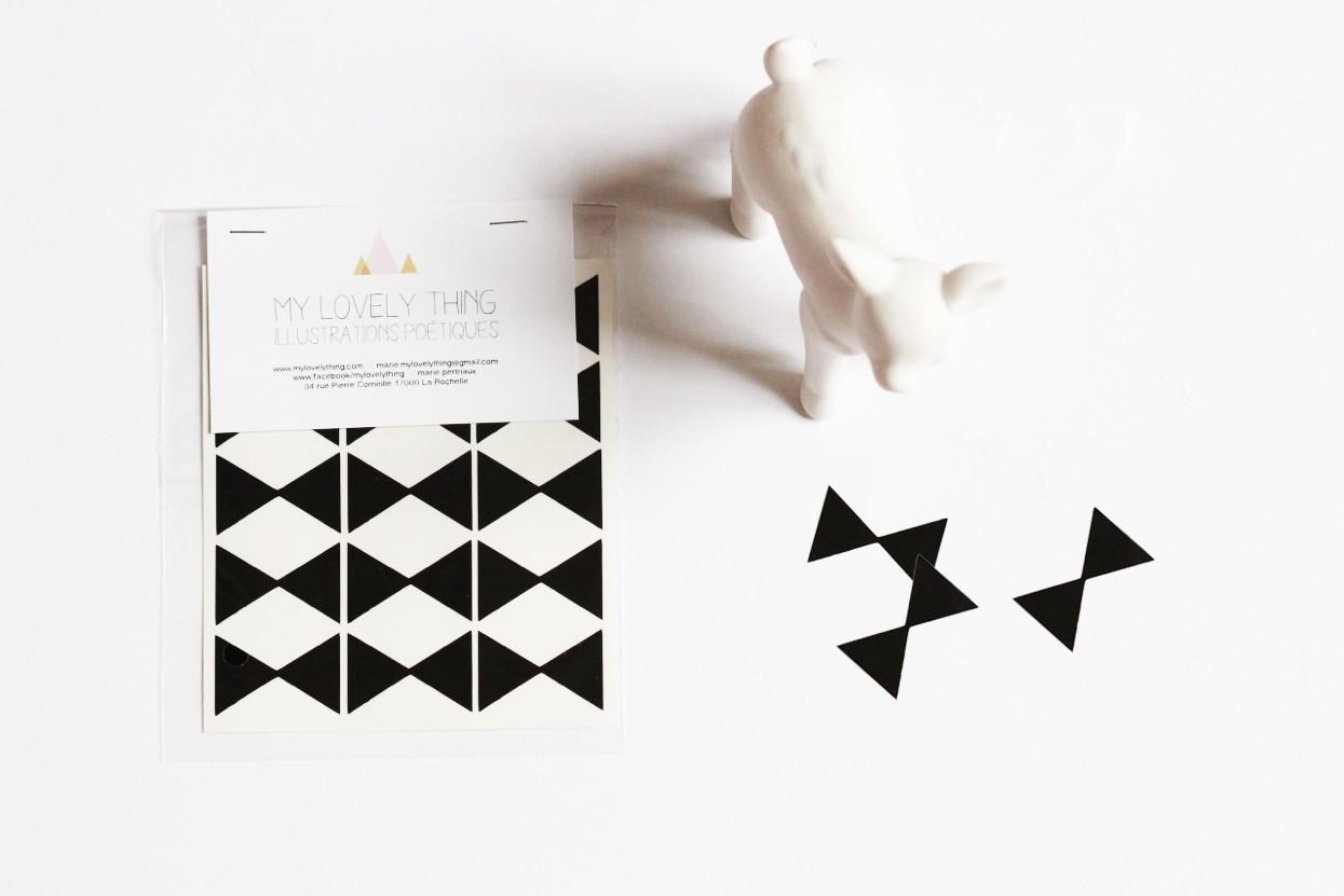 Naklejki Stickers Bow Tie black kokardki czarne