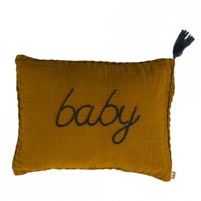 Cushion Message flashy gold - Numero 74