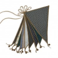 Garland Bunting mix blue