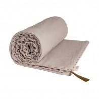 Koc Summer Blanket powder pudrowy