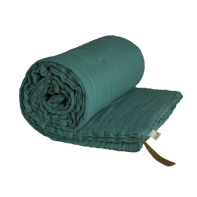 Numero 74 Winter Blanket aqua blue