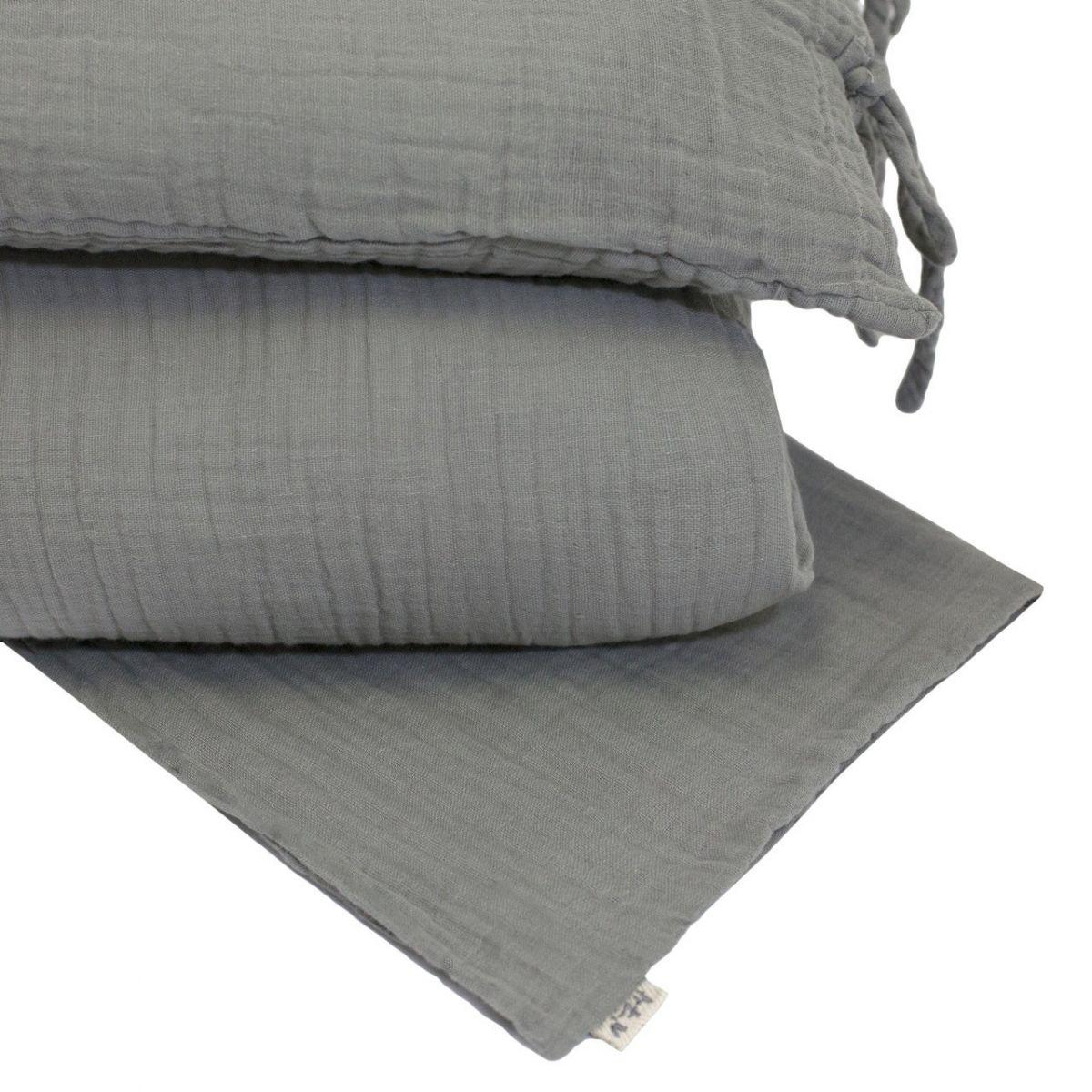 Duvet Cover Set silver grey - Numero 74