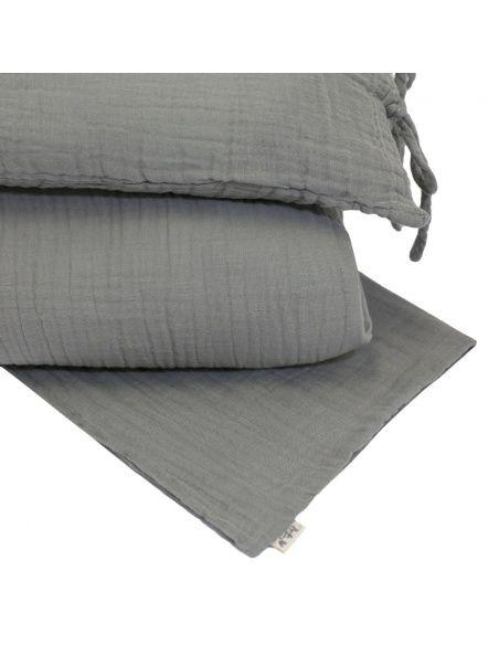 Numero 74 - Duvet Cover Set silver grey - 2