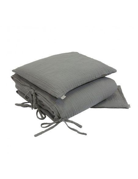 Numero 74 - Duvet Cover Set silver grey - 1