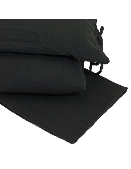 Numero 74 Duvet Cover Set dark grey